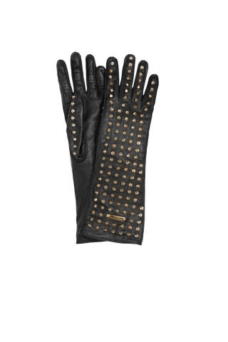 Burberry, prorsum studded leather gloves