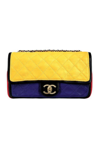 Chanel, Tri-color flapbag