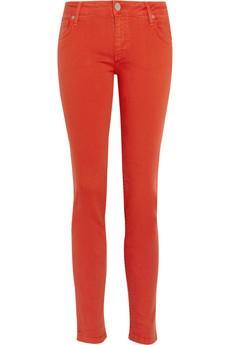 Victoria Beckham Denim power mid-rise skinny jeans