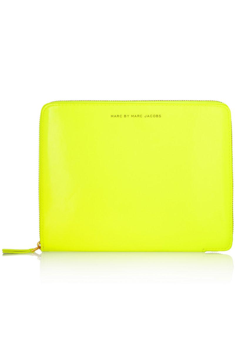 Marc by Marc Jacobs, Neon PVC iPad-case