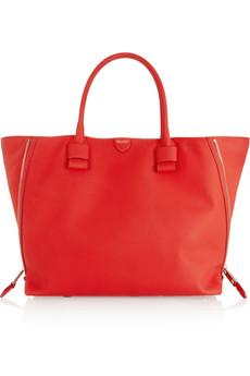 Marc Jacobs Shella rubberized leather shopper bag