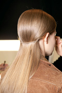 Hair Trend, Ponys Kors