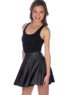 Mini leather skirt, BSB