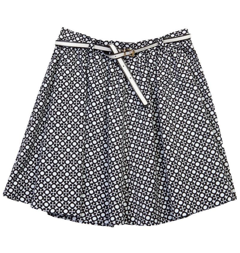Geometrical print mini skirt, BSB