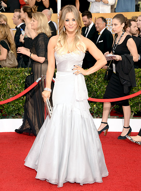 Kaley Cuoco - 20th Annual SAG Awards - Los Angeles - Getty Images - Low res.jpg