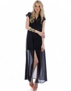 Maxi φόρεμα από μουσελίνα 75,00€