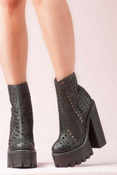JEFFREY CAMPBELL - EDSEL FOLLOW ME BOOTS