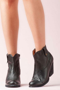 JEFFREY CAMPBELL - SISSY H LIZARD BOOTS