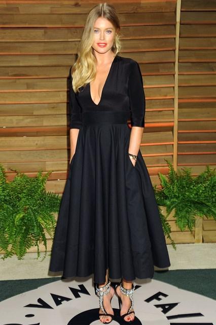 Doutzen Kroes in Delphine Manivet dress