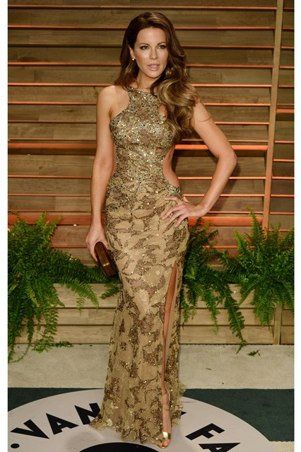 Kate Beckinsale in Elie Saab gown