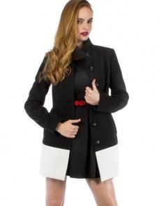 Δίχρωμο παλτό - Toi&Moi