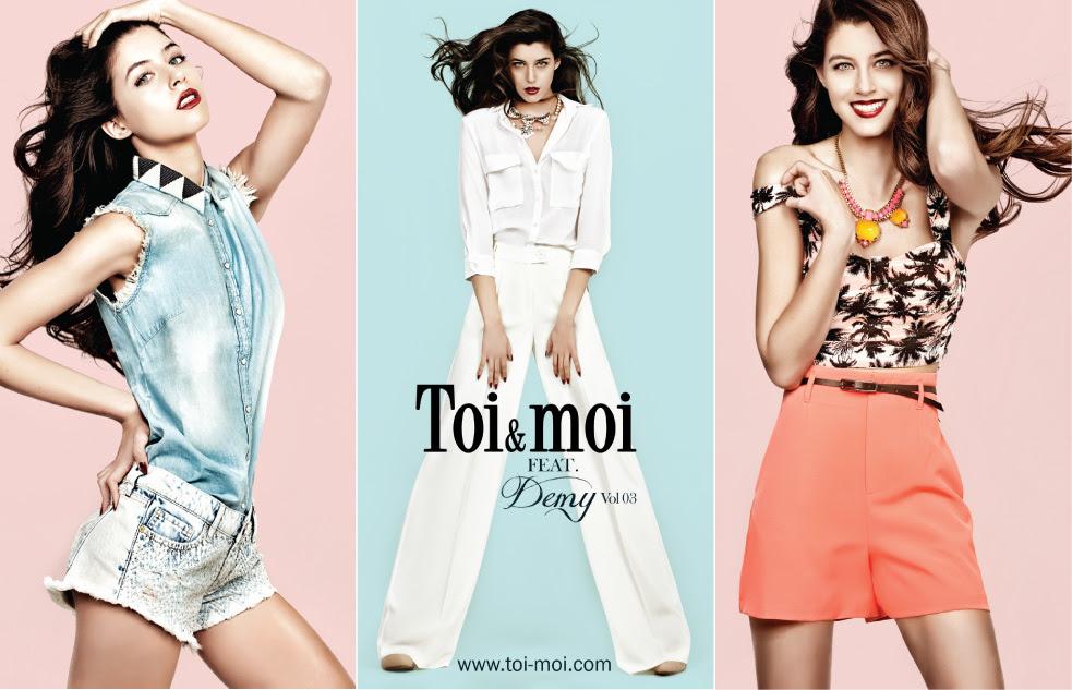 Καλοκαιρινή διάθεση από το lookbook SS 2014 της Toi Moi — Vicky s Style 5b4334744fd