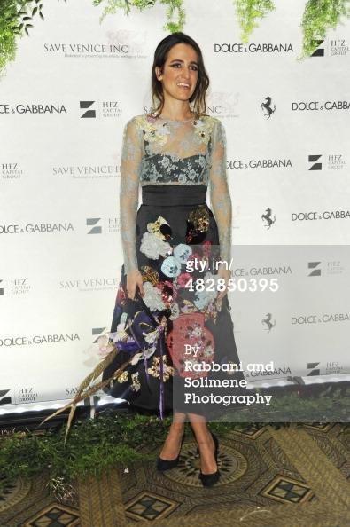 Coco Brandolini D'Adda_Save Venice Enchanted Garden Ball_April 4 2014