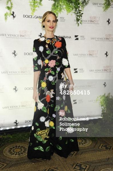 Lauren Santo Domingo_Save Venice Enchanted Garden Ball_April 4 2014