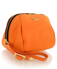 MODALU   MOCCA Orange Pouch   Now at 56.40€