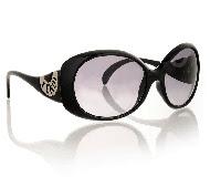 FENDI LOGO Black Sunglasses
