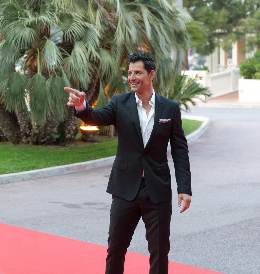 Sakis Rouvas in Dolce & Gabbana at WMA (May 27, 2014).jpeg