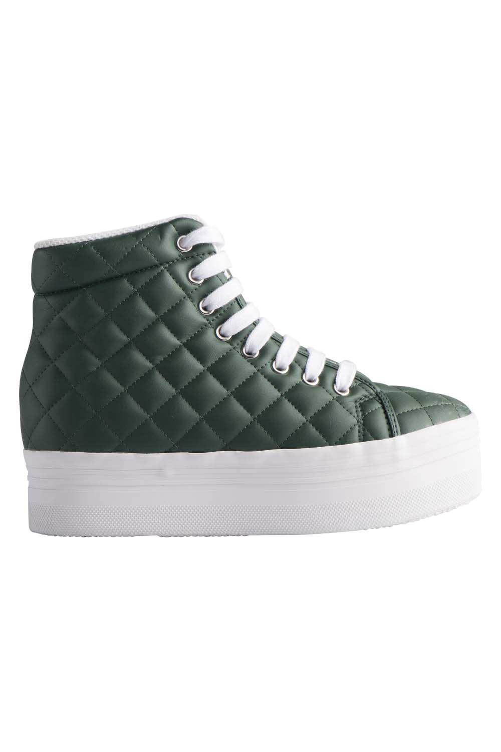 JEFFREY CAMPBELL SNEAKERS - HOMG DK GREEN QUILTED.jpg