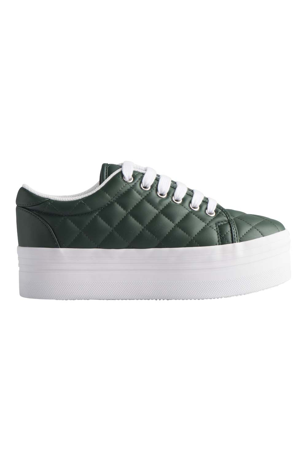 JEFFREY CAMPBELL SNEAKERS - ZOMG DK GREEN QUILTED.jpg