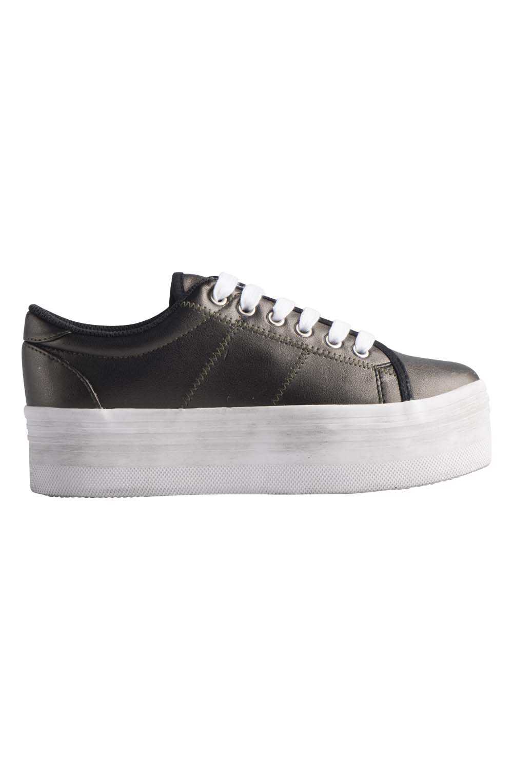 JEFFREY CAMPBELL SNEAKERS - ZOMG GUNMETAL LEATHER.jpg