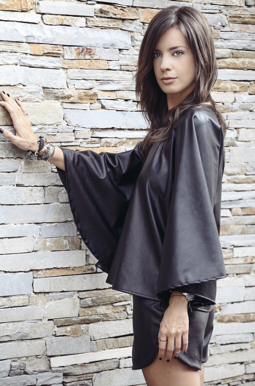 BLP PONCHO STYLE BLOUSE LEATHER 2.JPG