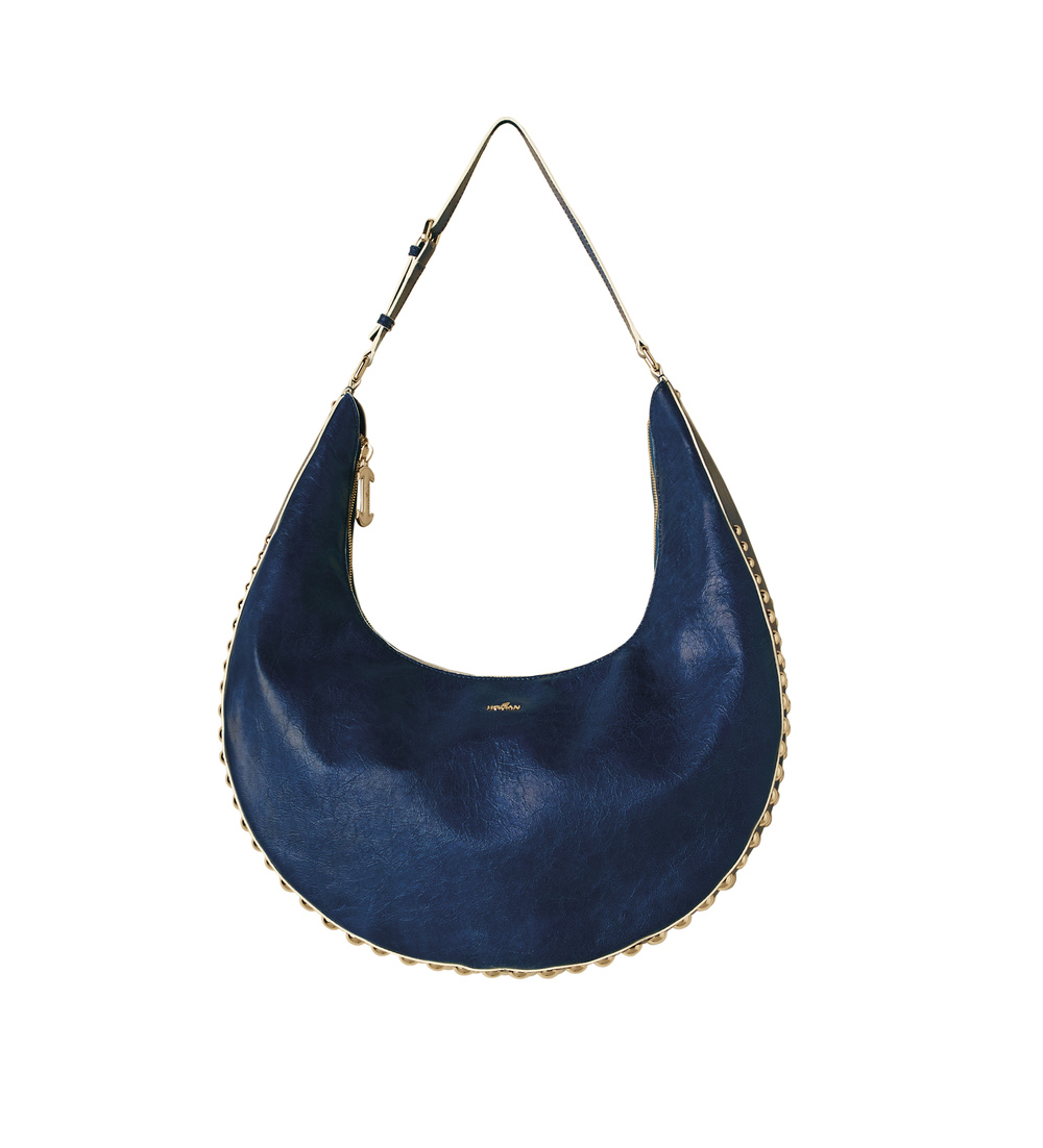 24-hobo bag in royal blue leather with studs.jpg