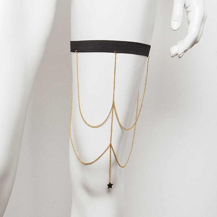''ONLY GIRLS'' LEG CHAIN SEXY STAR     ΑΠΟ 35,00Ε   ΤΩΡΑ 28,00E