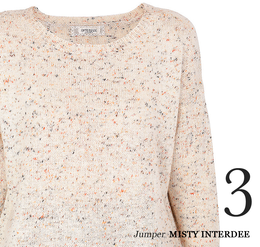 """""""Knits are crucial staples for the season. Invest in voluminous styles for an effortless off-duty look."""""""
