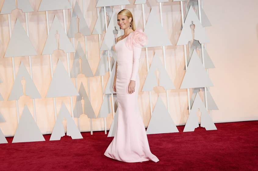 Gwyneth Paltrow in Ralph Russo Couture gown