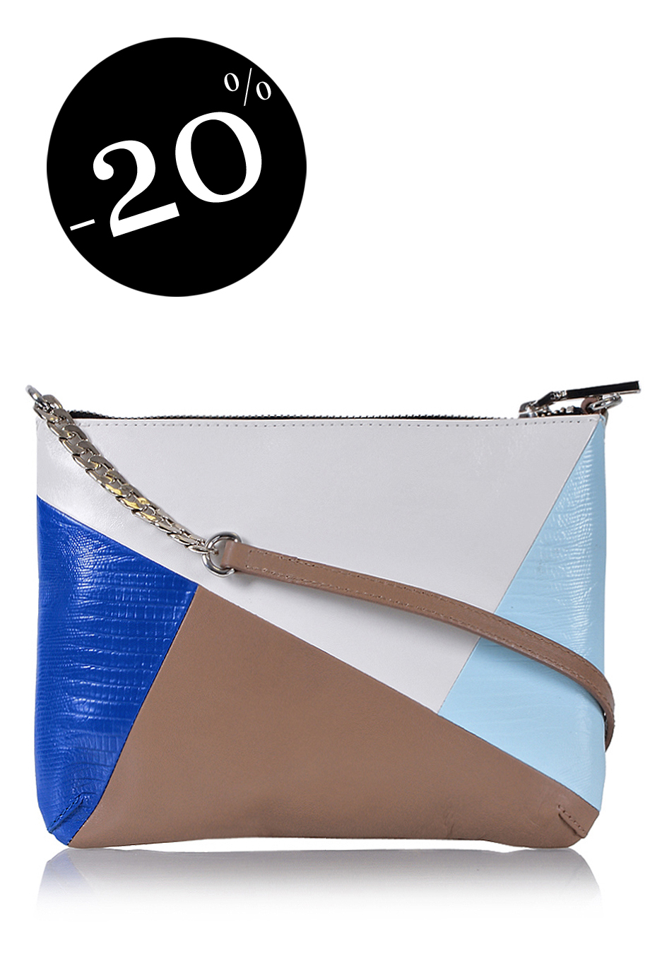 MODALU  TWIGGY Sky Blue Crossbody Bag