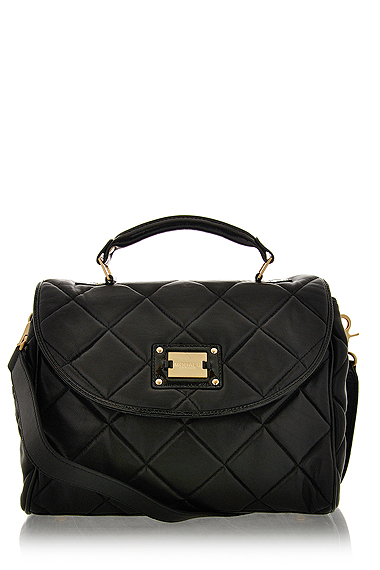 MODALU EIFFEL Black Leather  Small Grab