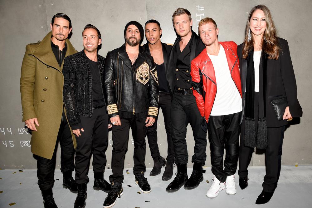 Backstreet Boys, Olivier Rousteing, Ann-Sofie Johansson