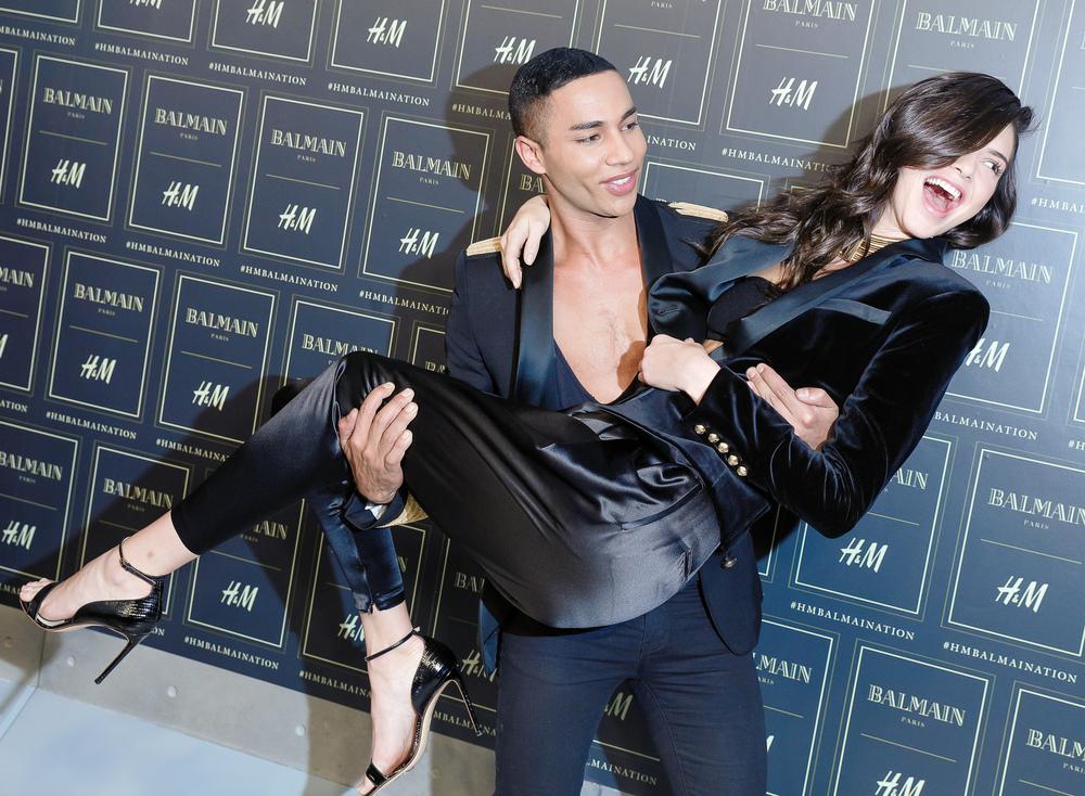 Olivier Rousteing, Kendall Jenner