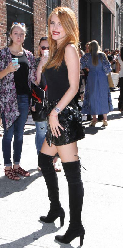 Bella Thorne - Stuart Weitzman Highland.JPG