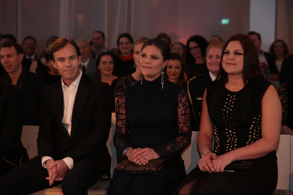 Karl-Johan Persson, HRH Crown Princess Victoria of Sweden and Diana Amini at the Global Change Award 2015 (1).JPG
