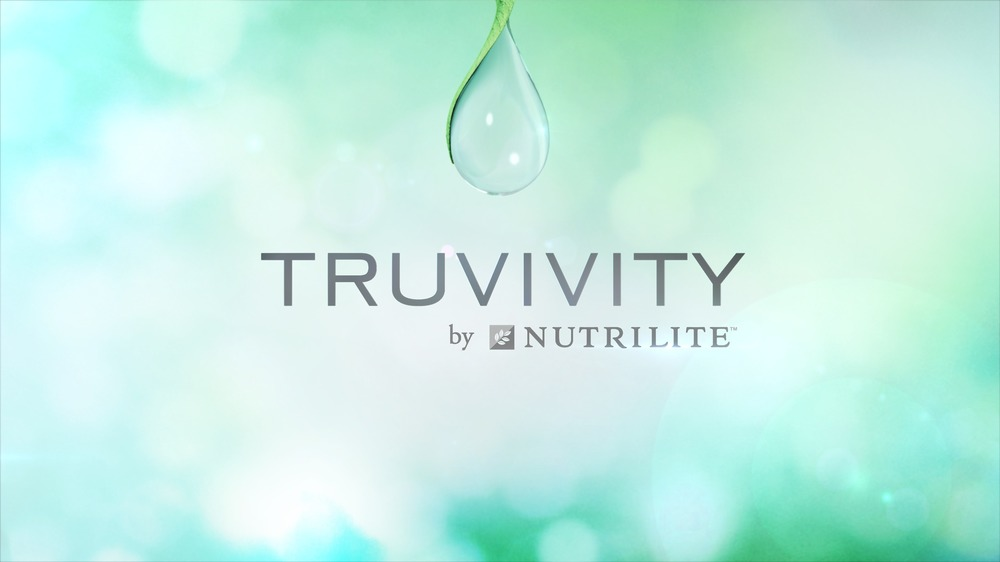 Truvivity drop and logo
