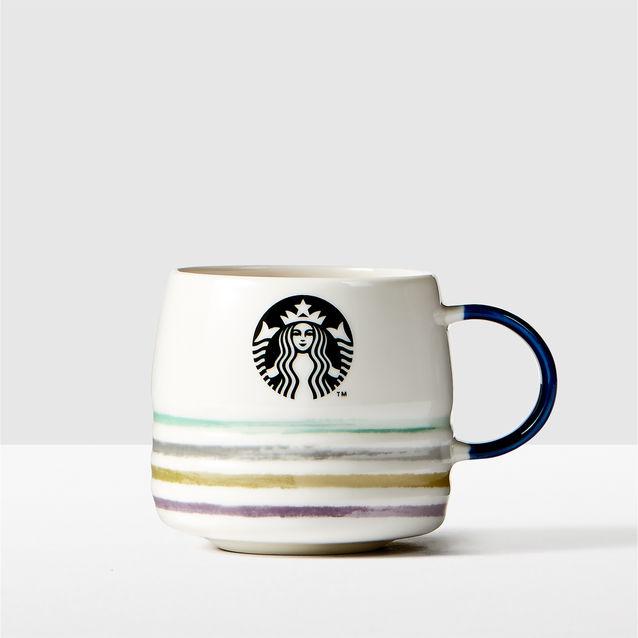 Starbubks Aqua Stripe Mug_355ml.jpg