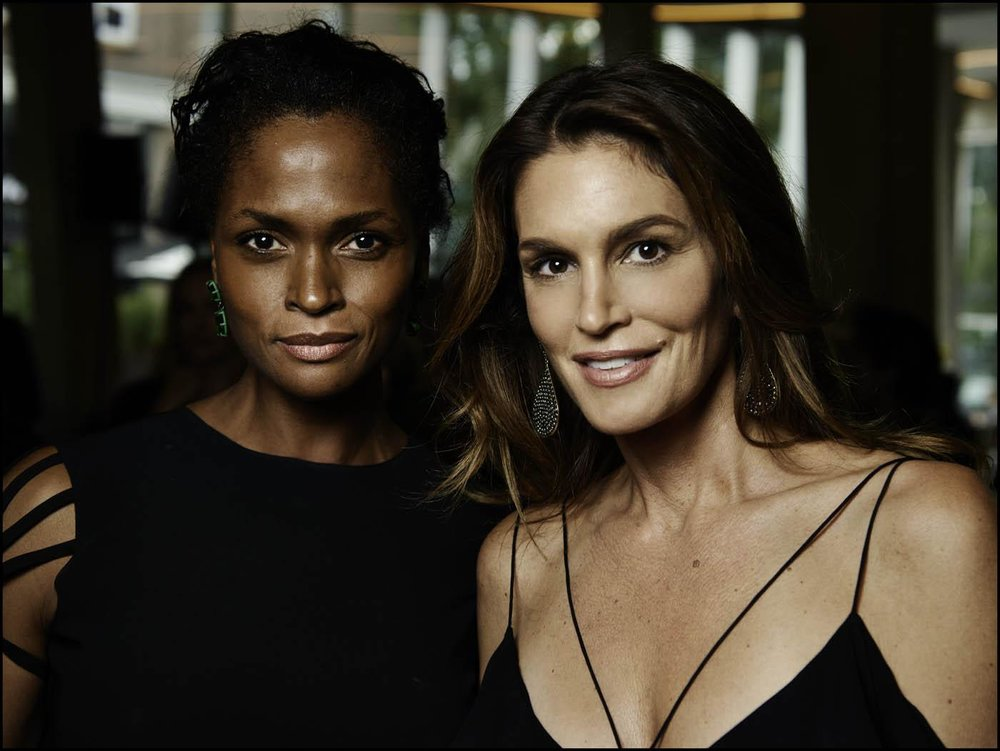 Karen Alexander and  Cindy Crawford.jpg