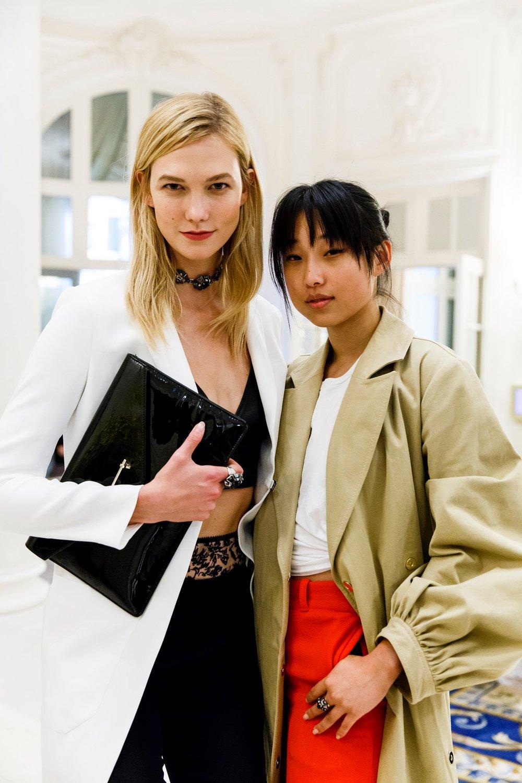 Karlie Kloss and Margaret Zhang - Atelier Swarovski.jpg