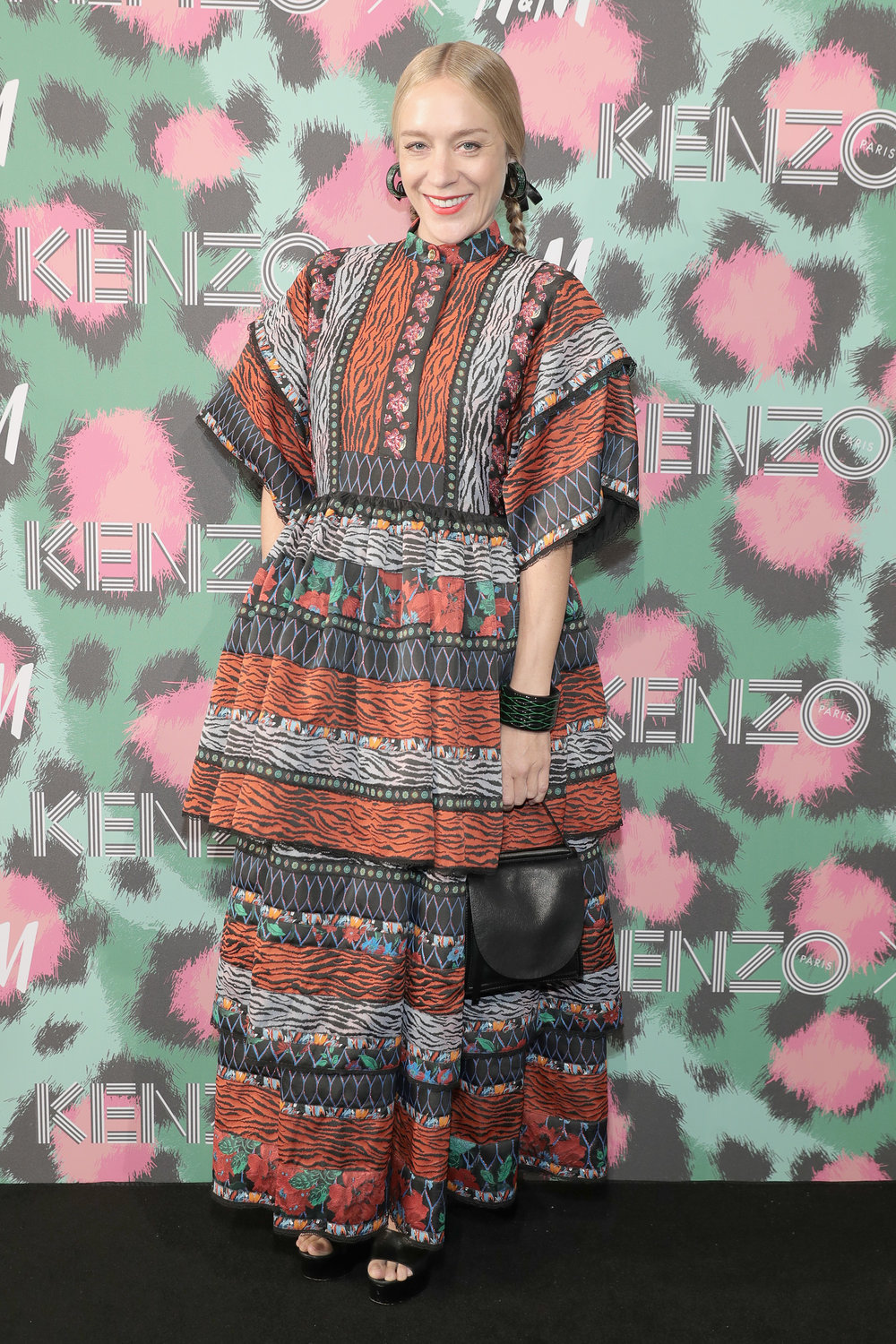 NEW YORK, NY - OCTOBER 19:  Chlo� Sevigny attends KENZO x H&M Launch Event Directed By Jean-Paul Goude'  at Pier 36 on October 19, 2016 in New York City.  (Photo by Neilson Barnard/Getty Images for H&M)