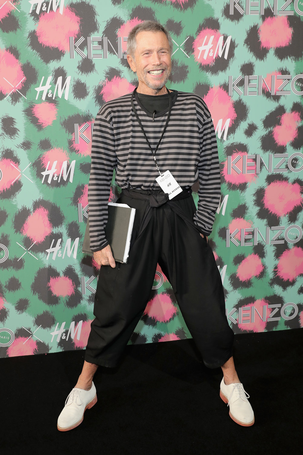 NEW YORK, NY - OCTOBER 19: Jean-Paul Goude attends KENZO x H&M Launch Event Directed By Jean-Paul Goude'  at Pier 36 on October 19, 2016 in New York City.  (Photo by Neilson Barnard/Getty Images for H&M)