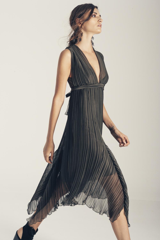 Φόρεμα πλισέ Demetra.JPG