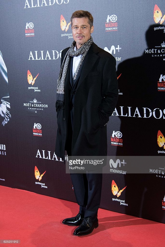 Brad Pitt - Allied premiere - Madrid - Gettyimages low res.jpg
