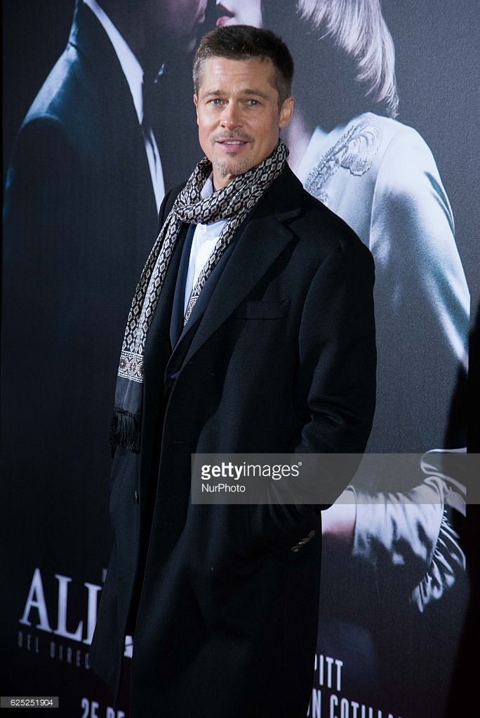 Brad Pitt - Allied premiere - Madrid - Gettyimages low res 1.jpg