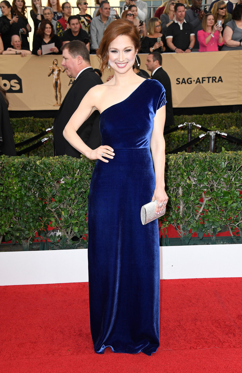 Ellie Kemper in Wai Ming at the 2017 SAG Awards Photo: Frazer Harrison/Getty Images