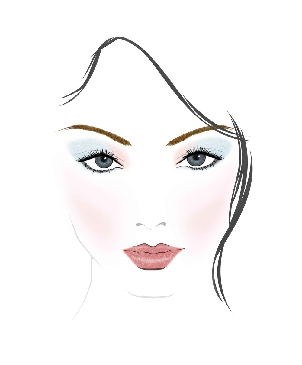 Spring 2017 Chic Face Chart