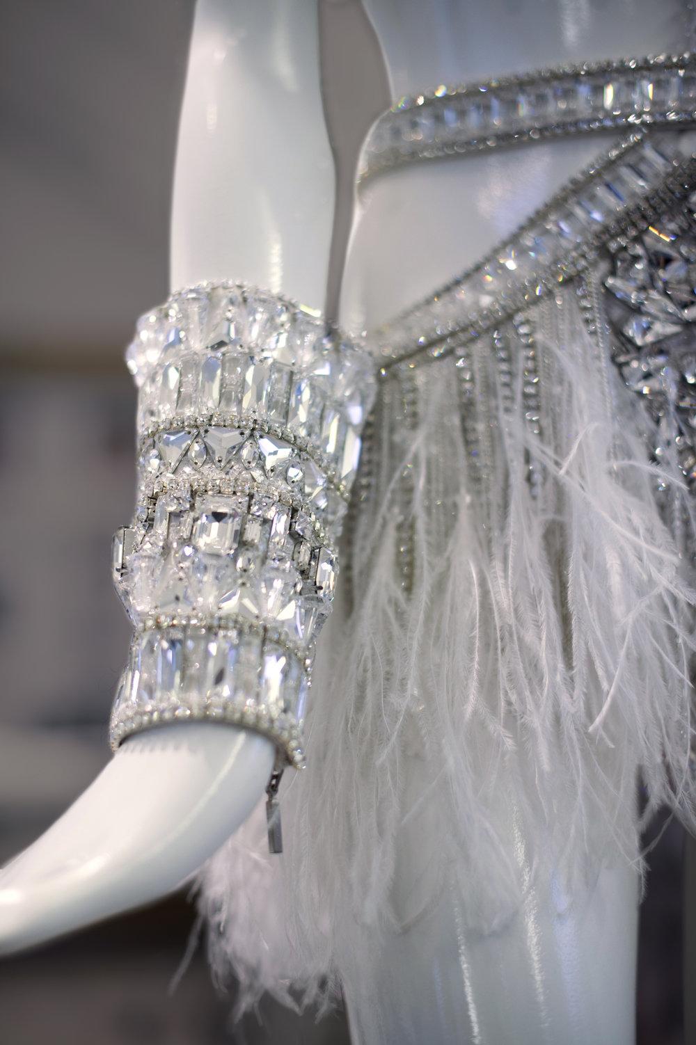 Julien Macdonald mini dress designed using Swarovski Crystal for Jennifer Lopez's 'All I Have' Las Vegas Residency, 2017 (2).jpg