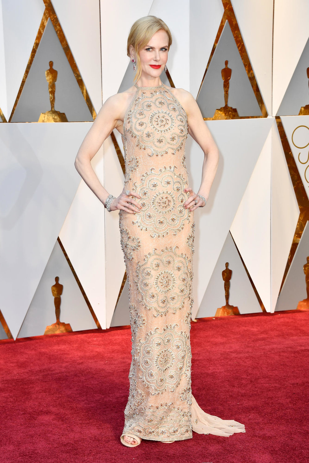 Nicole Kidman in Armani gown (Frazer Harrison/Getty images)