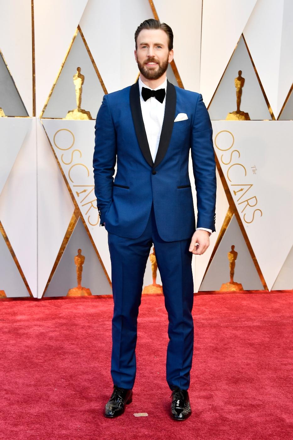 Chris Evans - Salvatore Ferragamo tuxedo.jpg