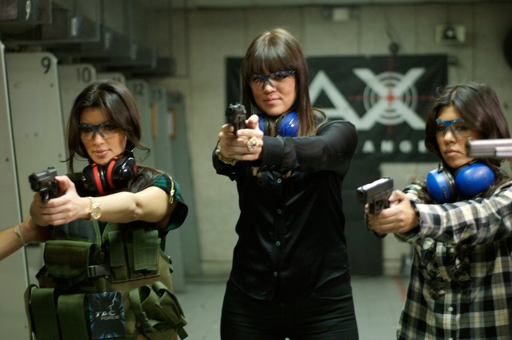 Kardashians shooting guns